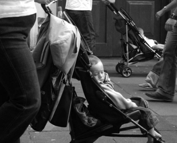 bæring av større barn